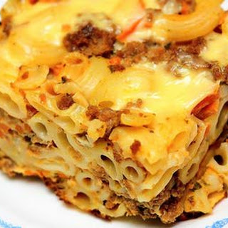 Beef Macaroni Casserole