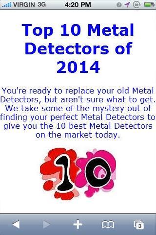 Metal Detector Reviews