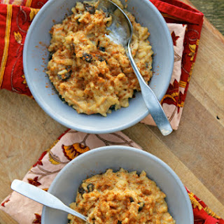 Carrot Rice Pudding