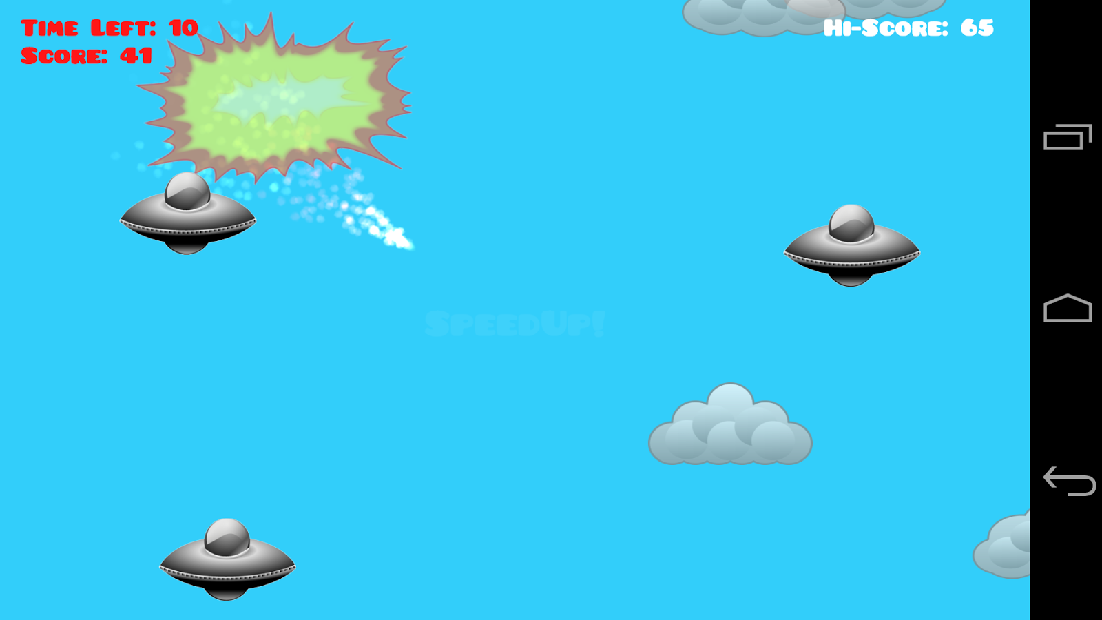 Fireball Smash- screenshot
