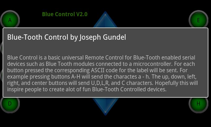 Blue Control - screenshot