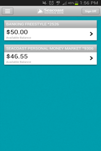 Seacoast Personal Banking - screenshot thumbnail