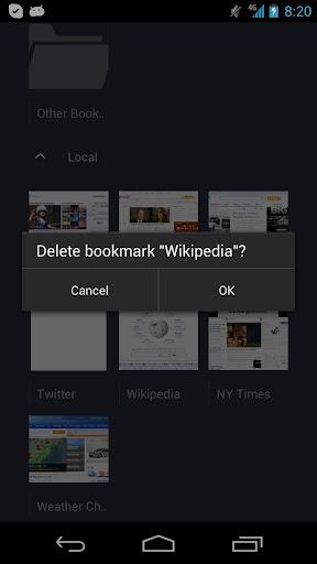 UnBooker Delete Bookmarks