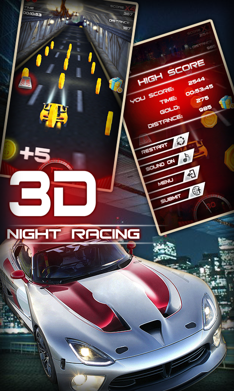 Night Racing 3D - screenshot