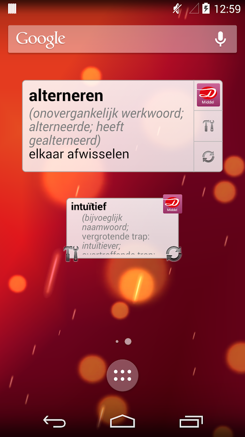 Dutch Dictionary Plus- screenshot