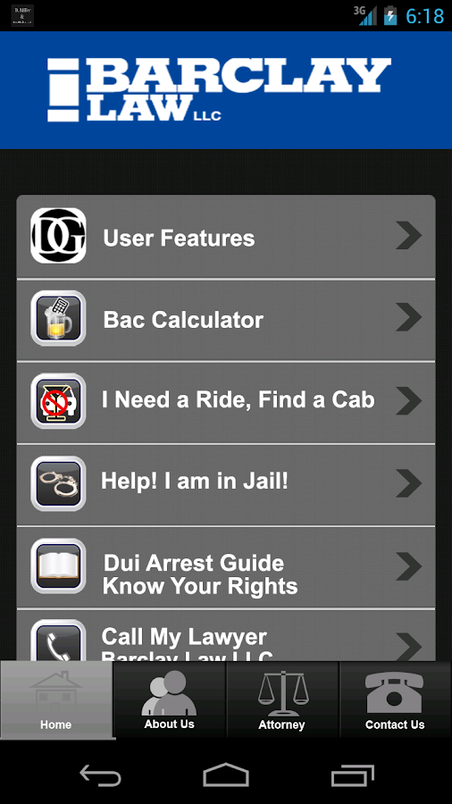 DUI Help by The Barclay Law- screenshot