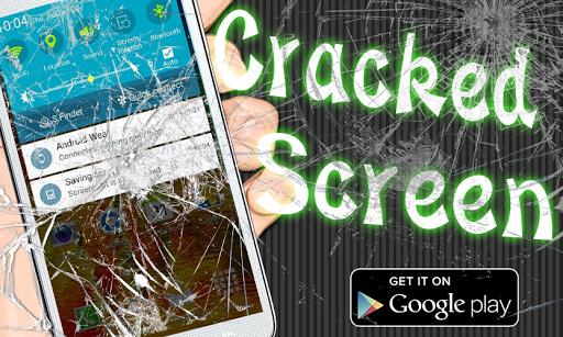 Cracked Screen - Broken Screen