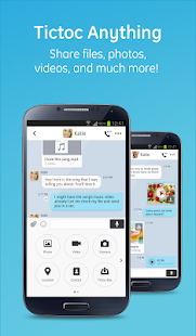 Tictoc - Free SMS & Text - screenshot thumbnail