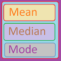 Mean, Median And Mode icon