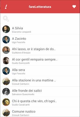 fareLetteratura - screenshot