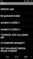 Screenshot of MESNEVİ