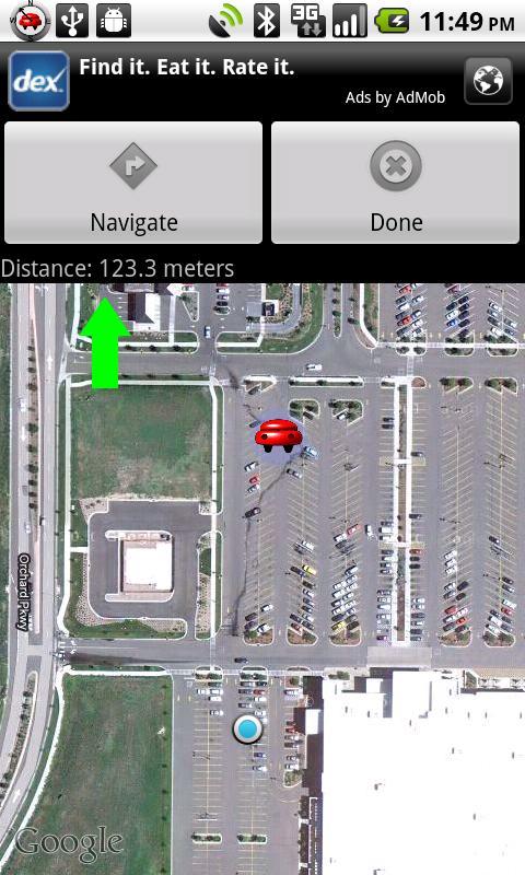 Car Compass - screenshot