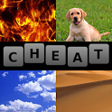 4 Pics 1 Word Cheat AllAnswers icon