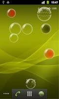 Screenshot of Bubble Droid Live Wallpaper