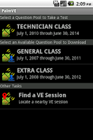 Screenshot of PalmVE