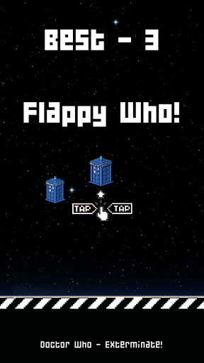 FLAPPY WHO : Doctor who