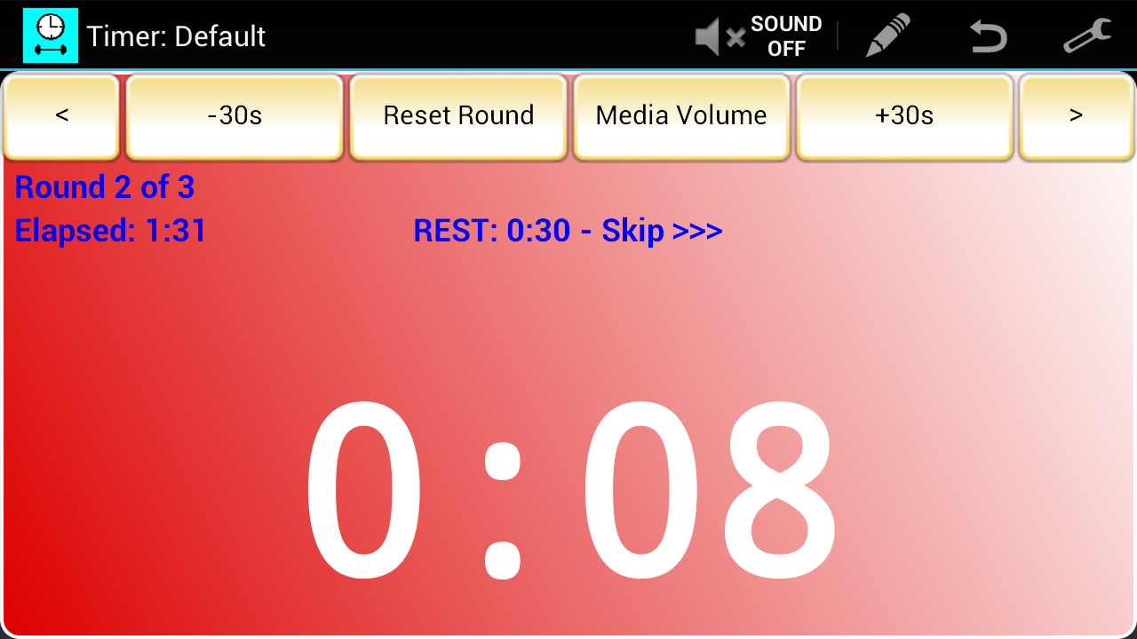 Workout Timer (Free)- screenshot