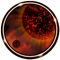 3D Magma Star Wallpaper icon
