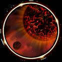 3D Magma Star Wallpaper icon