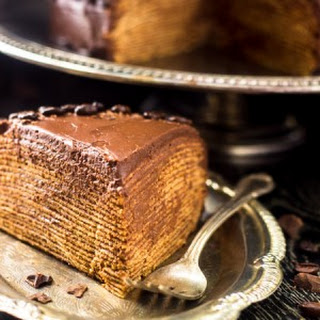Baileys Crepe Cake