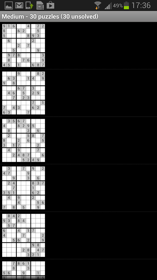 Sudoku Master plus Solver Hint - screenshot
