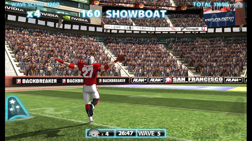 Backbreaker THD - screenshot