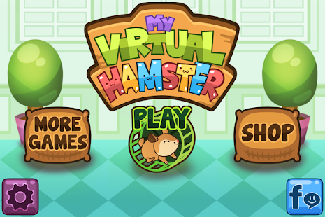 My Virtual Hamster - Cute Pet- screenshot thumbnail
