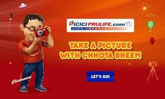 Screenshot of Chhota Bheem Photo App