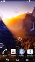 Screenshot of Yosemite Live Wallpaper