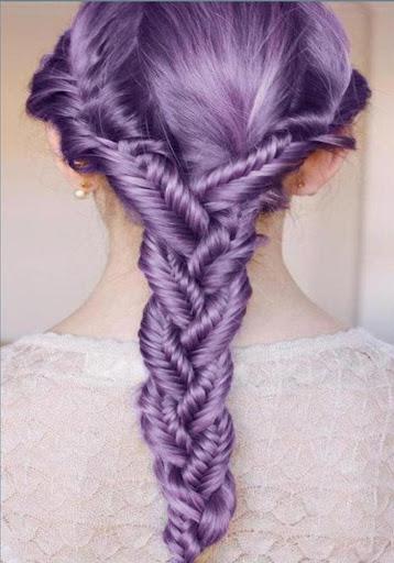 法國辮子髮型