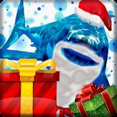 Angry Shark Pet Christmas Skin