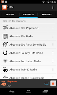1.FM Online Radio Official app- screenshot thumbnail