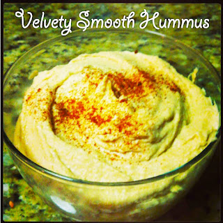 Velvety Smooth Hummus