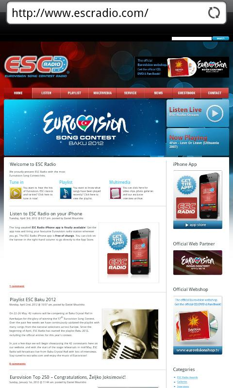 ESC Radio- screenshot