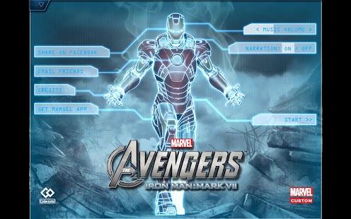 Download Android App The Avengers-Iron Man Mark VII for Samsung
