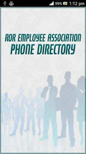 Phone Directory REA