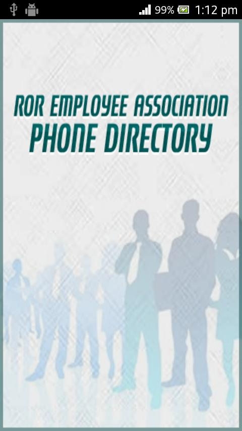 Phone Directory REA - screenshot