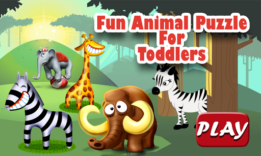 Fun Animal Puzzle For Toddlers