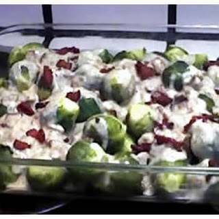 Bacon and Brussel Bake Recipe