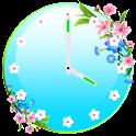 Flores Relógio Widgets