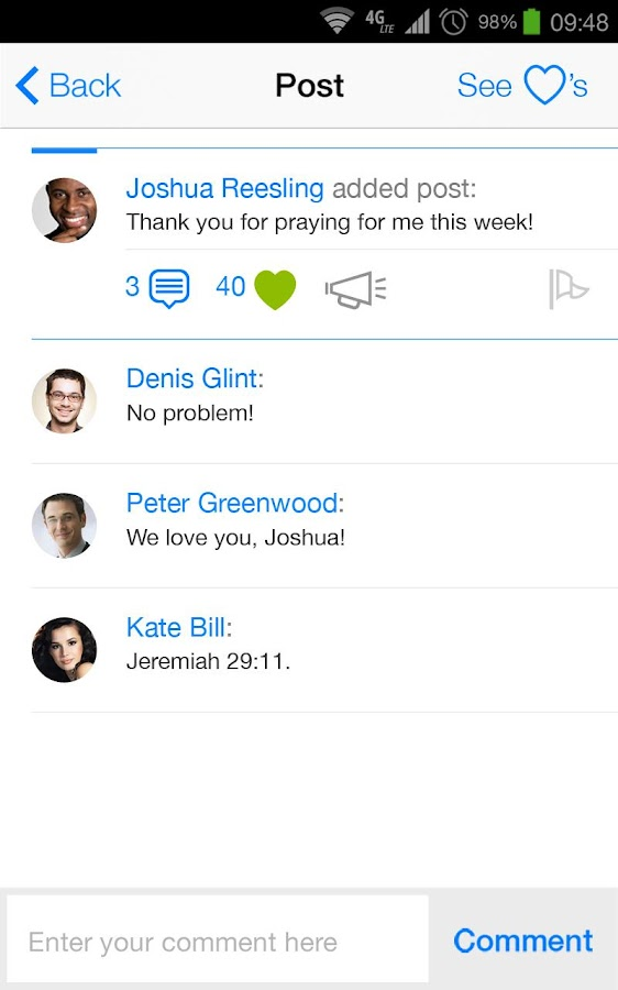 SmartChurch- screenshot
