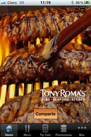 Tony Roma´s Panamá - screenshot