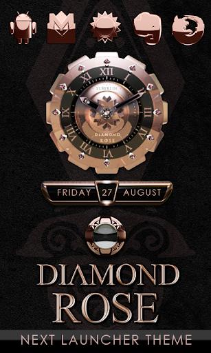 Next Launcher Theme Diamond