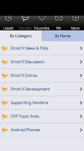 Droid X Forums - screenshot thumbnail