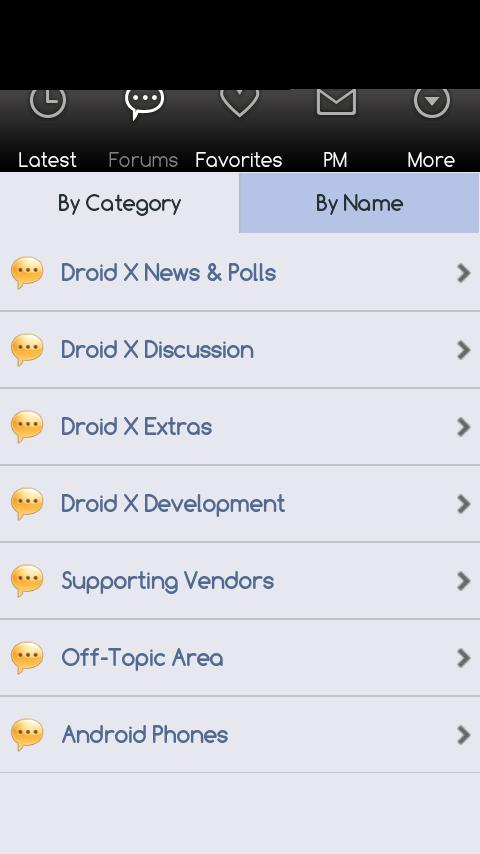 Droid X Forums - screenshot