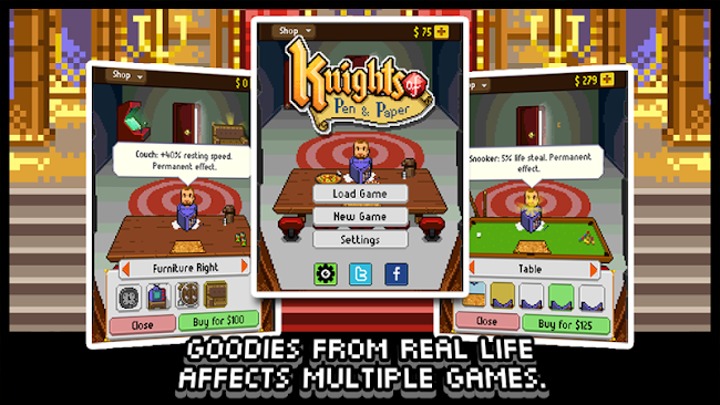 Knights of Pen & Paper 1 apk