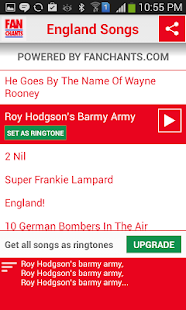 England World Cup Ringtones - screenshot thumbnail