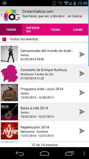 Ocio en Galicia.|玩娛樂App免費|玩APPs