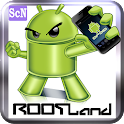 Rootland : root android logo