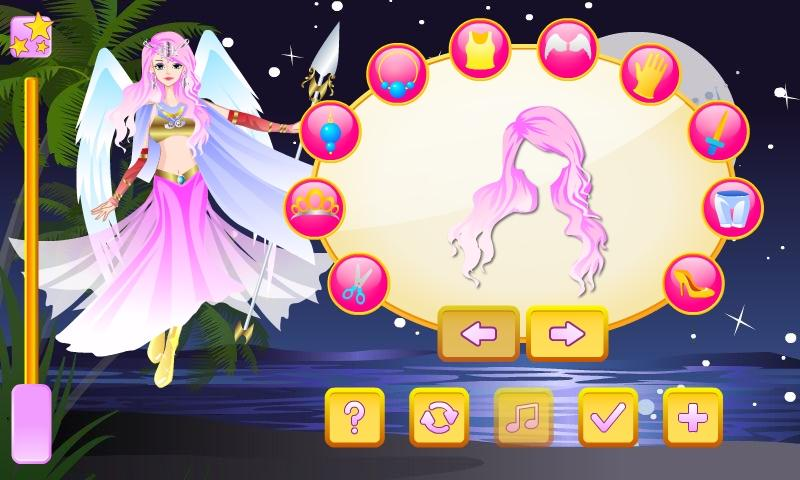 Warrior Angel Dress Up - screenshot